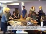 Vecumnieku novada Stelpē aizvadīta budēļu cepuru gatavošanas meistarklase