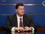 Gerhards tiešraidē pamet TV5 studiju