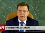 Māris Kučinskis ziņo par uzdevumu izpildi gada laikā