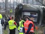 Vilciena katastrofā Beļģijā viens bojā gājušais