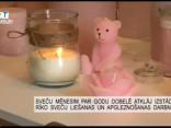 Sveču mēnesim par godu Dobelē atklāj izstādi un rīko sveču darbnīcu