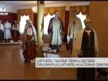 Latviešu tautas tērpu izstāde Daugavpils Latviešu kultūras centrā