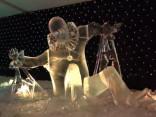 Зимняя сказка из Елгавы: фестиваль ледяных скульптур