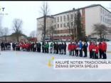 Kalupē notiek tradicionālās ziemas sporta spēles
