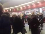 Centrālā stacija un t/c «Origo» evakuācija