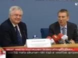 """""""Brexit"""" ministrs sola saglabāt tiesības Latvijas pilsoņiem"""