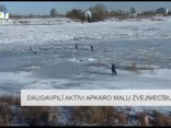 Daugavpilī aktīvi apkaro malu zvejniecību