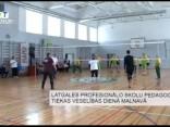 Latgales profesionālo skolu pedagogi tiekas veselības dienā Malnavā