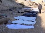 Lībijas krastā uzsākta izskaloto 74 migrantu līķu aizvākšana