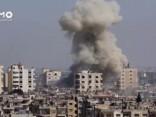 Pašnāvnieku uzbrukumos Sīrijas drošības dienestu bāzēm nogalināti 42 cilvēki