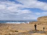 Sabrucis viens no krāšņākajiem dabas pieminekļiem - Maltas klinšu «Azūra logs»