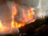 Čīlē dabas ugunsgrēku dēļ evakuēti tūkstošiem saimniecību
