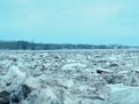 Tūristus piesaistošie ledus krāvumi Pļaviņās varētu kļūt par pilsētas zīmolu