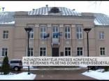 Aizvadīta kārtējā preses konference pie Rēzeknes pilsētas domes priekšsēdētāja