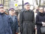 Latvijas Centrālajai padomei veltītas piemiņas plāksnes atklāšanas ceremonija