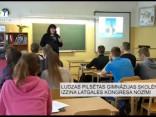 Ludzas pilsētas ģimnāzijas skolēni izzina Latgales kongresa nozīmi