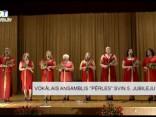 """Vokālais ansamblis """"Pērles"""" svin 5. jubileju"""