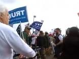На митинге в поддержку Трампа произошли столкновения