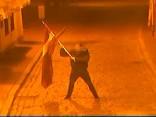 Par valsts karoga zaimošanu aizturēti divi Beļģijas pilsoņi