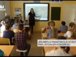 Jēkabpils pamatskolā stāsta par Latgales kongresu