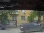 Момент взрыва газа в Волгограде попал на видео