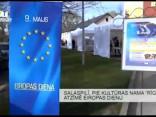 """Salaspilī, pie kultūras nama """"Rīgava"""", atzīmē Eiropas dienu"""