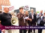 Pikets pie Rīgas Domes par NĪN atcelšanu vienīgajam mājoklim