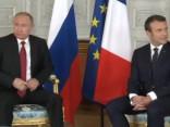 Putins ieradies Francijā, lai tiktos ar Makronu
