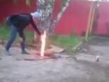 Школьники взорвали канализационный коллектор ради лайков