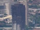 Сгоревшее здание «Grenfell Tower» в Лондоне. Второй день