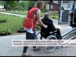 Riebiņu novadā pieejams specializēts transports cilvēkiem ar kustību traucējumiem
