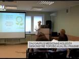 Daugavpils medicīnas koledžā demonstrē topošo auklīšu prasmes
