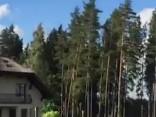 Vētra nodarījusi lielus postījumus Siguldas novadā