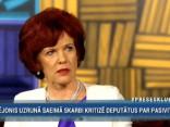 Āboltiņa: Vējonis nav izdarījis pietiekami, lai palīdzētu uzsākt reformas