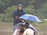 Plūdos Ķīnā 28 bojāgājušie, 16 pazudušie