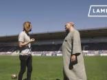 Futbolists Kaspars Gorkšs un filozofs Arnis Rītups sarunā par to, kas jādara ar galvu