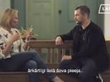 Baiba Broka un cilvēktiesību aktīvists Kaspars Zālītis šķetina to, kā dzīvo «normāla» ģimene