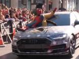 Audi uz «Zirnekļcilvēks: Atgriešanās mājās» sarkanā paklāja
