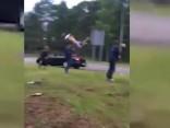 Zvejnieksvētkos Rojā autovadītājs notriecis cilvēku