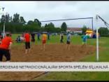 Pēterdienas netradicionālajām sporta spēlēm Sīļukalnā