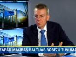 """Rinkēvičs: """"Zapad"""" mācības nav militārs apdraudējums Latvijai"""