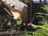 Zviedrijā sagrūstot tiltam, ievainoti 16 cilvēki