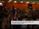Daugavpils tehnikumu absolvē jaunie speciālisti