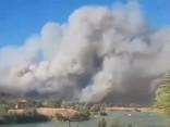 Francijā savvaļas ugunsgrēka dēļ evakuēti 10 000 cilvēku