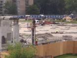 Строительство т/ц Akropole в Риге