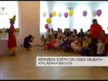 Bērnības svētki un vides objekta atklāšana Balvos