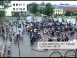 Ludzā motociklisti tiekas Klaidoņu dienā