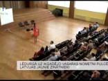 Lēdurgā uz ikgadējo vasaras nometni pulcējas Latvijas jaunie zinātnieki