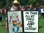 Bostonā demonstrācijā pret rasismu piedalās 40 000 cilvēku