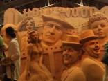Noskaties: Japānā norisinās iespaidīgs smilšu skulptūru festivāls
